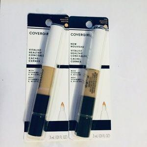 CoverGirl Healthy Concealer Lot of 2 New Medium